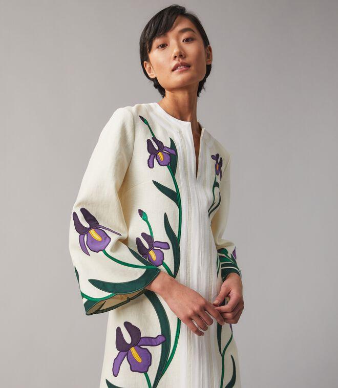 Iris Embroidered Caftan