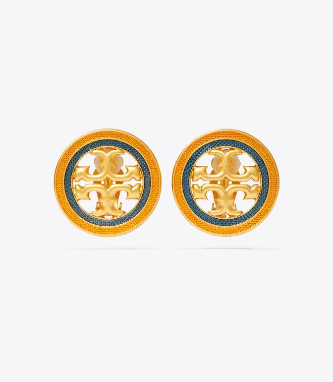 Miller Guilloche Clip-On Earring