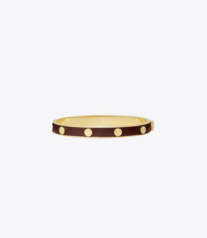 Miller Stud Leather Hinge Bracelet