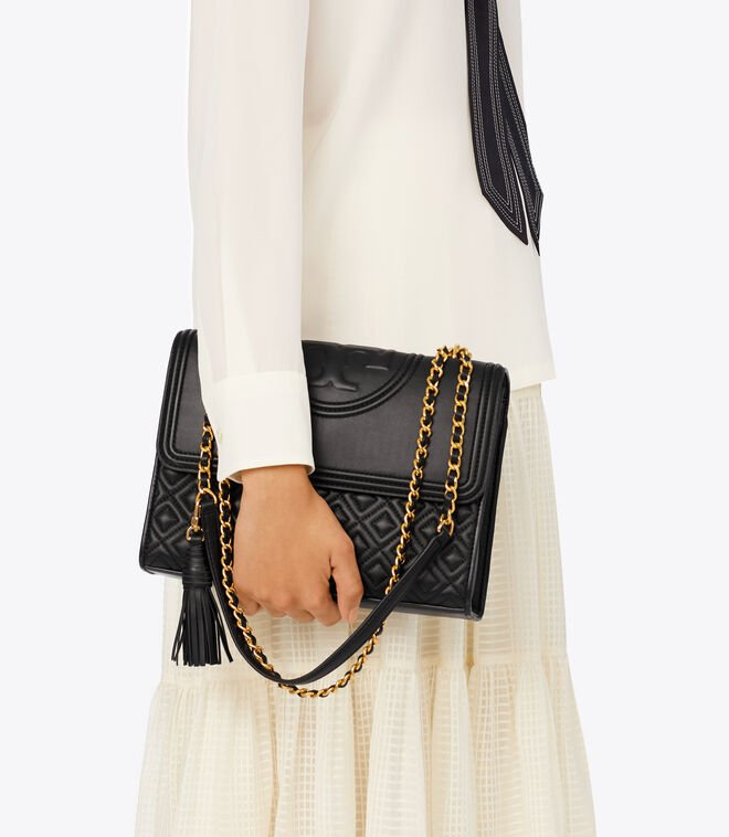 FLEMING CONVERTIBLE SHOULDER BAG | 001 | Shoulder Bags