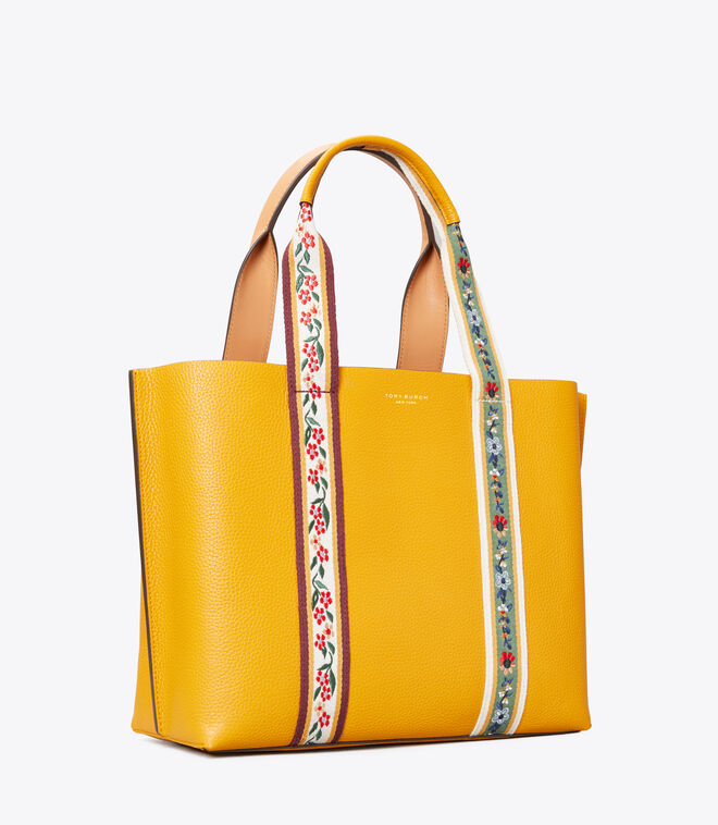 Perry Webbing Triple-Compartment Tote