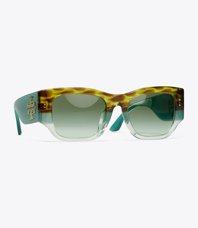 VINTAGE EXPLODED STACKED RECTANGULAR WIDE | 311 | Sunglasses