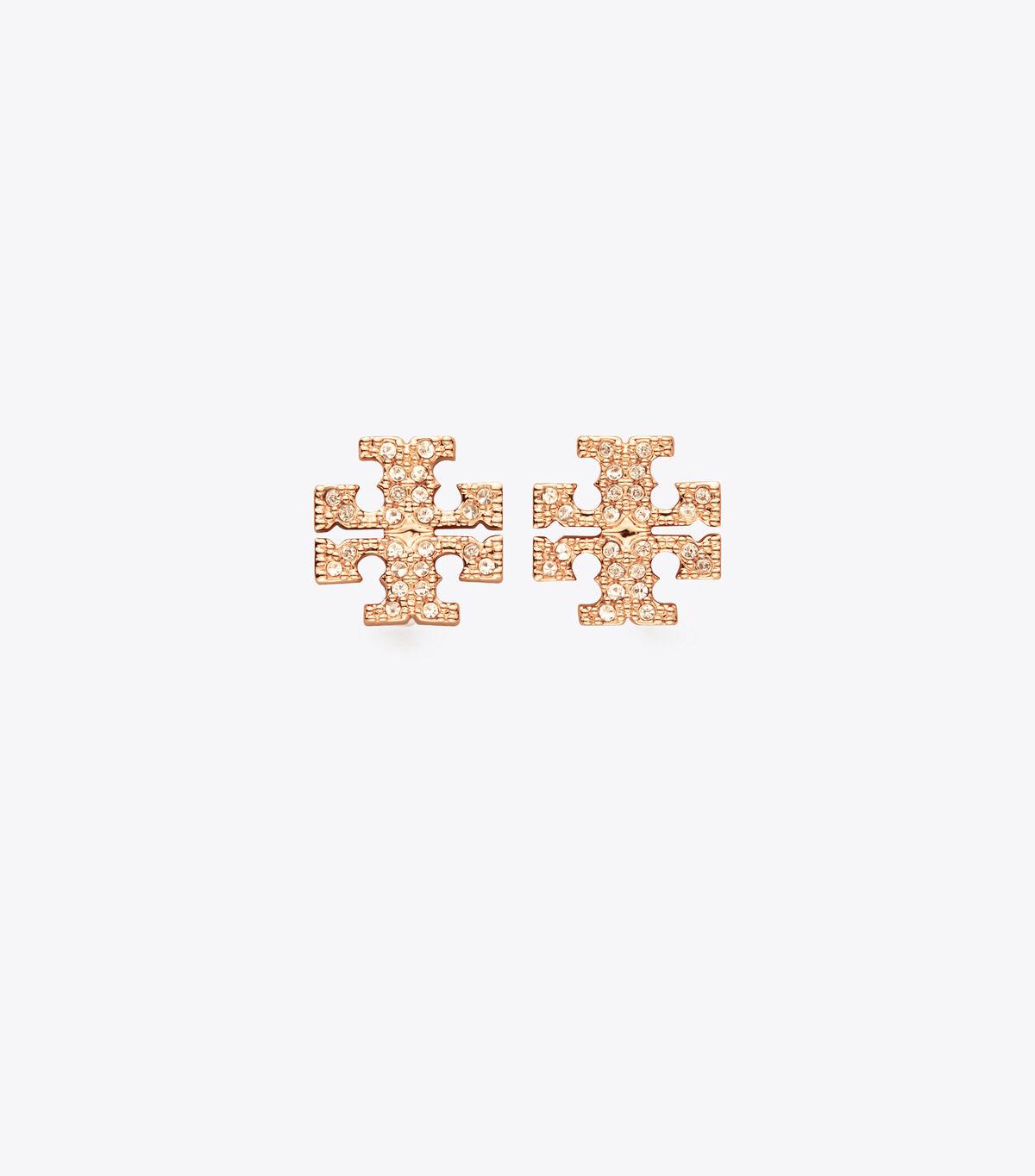 حلق دبوس كريتسال بشعار توري بيرش | 696 | حلق