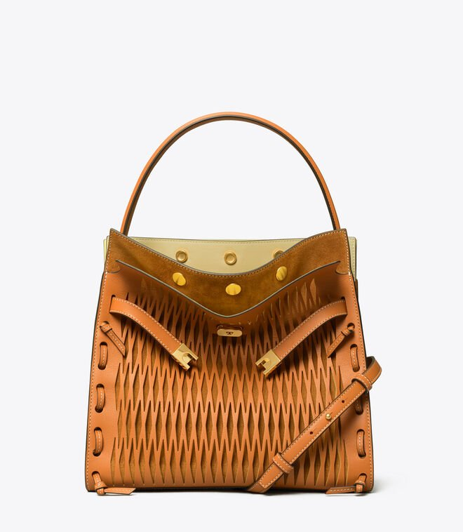 LEE RADZIWILL CUT OUT DOUBLE BAG