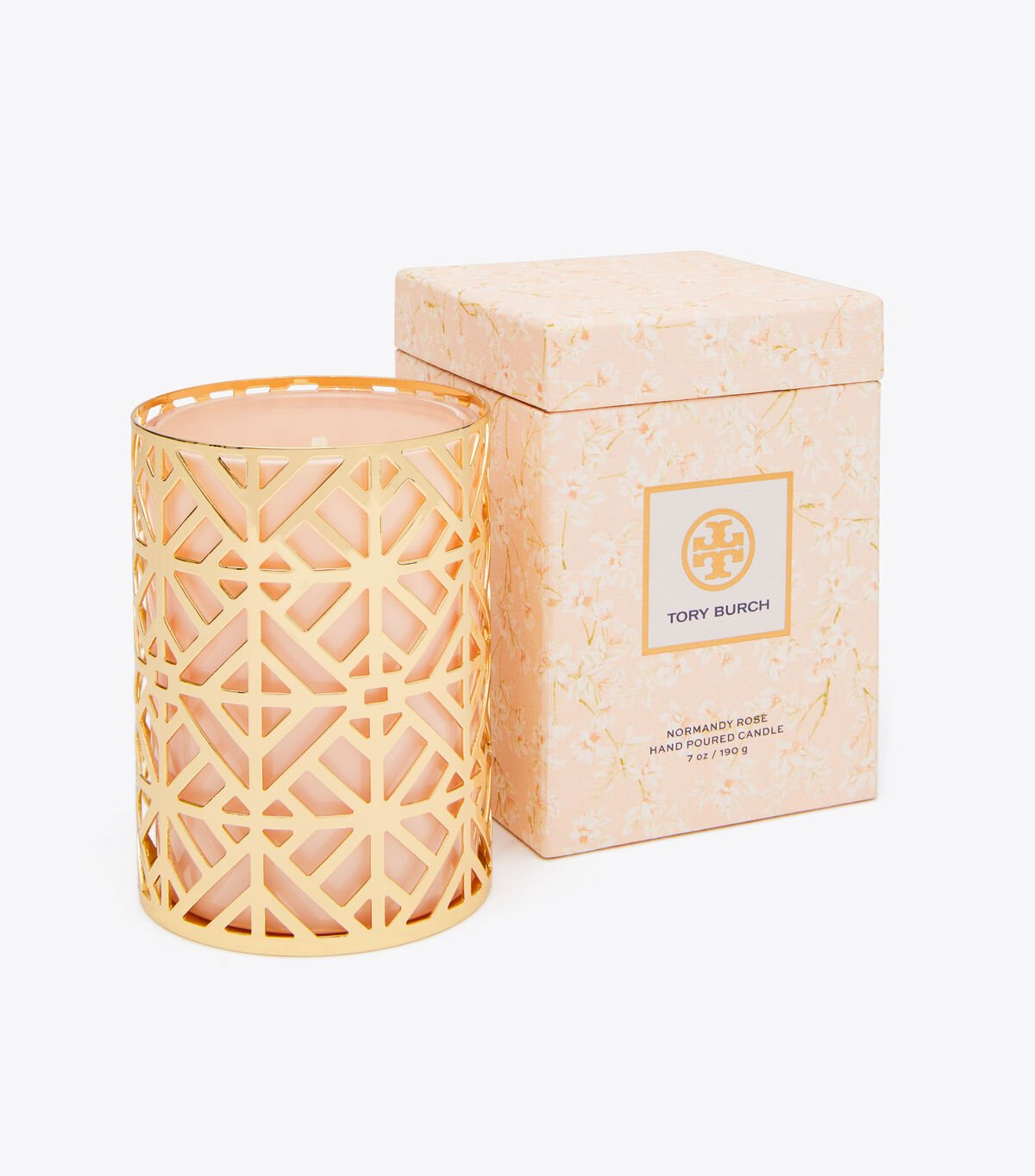 Normandy Rose Candle