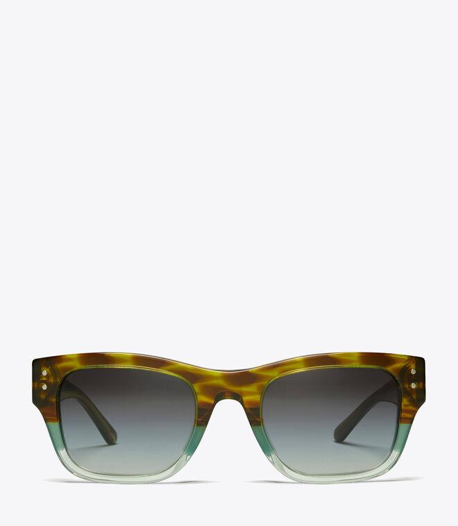 VINTAGE EXPLODED STACKED RECTANGULAR   311   Sunglasses