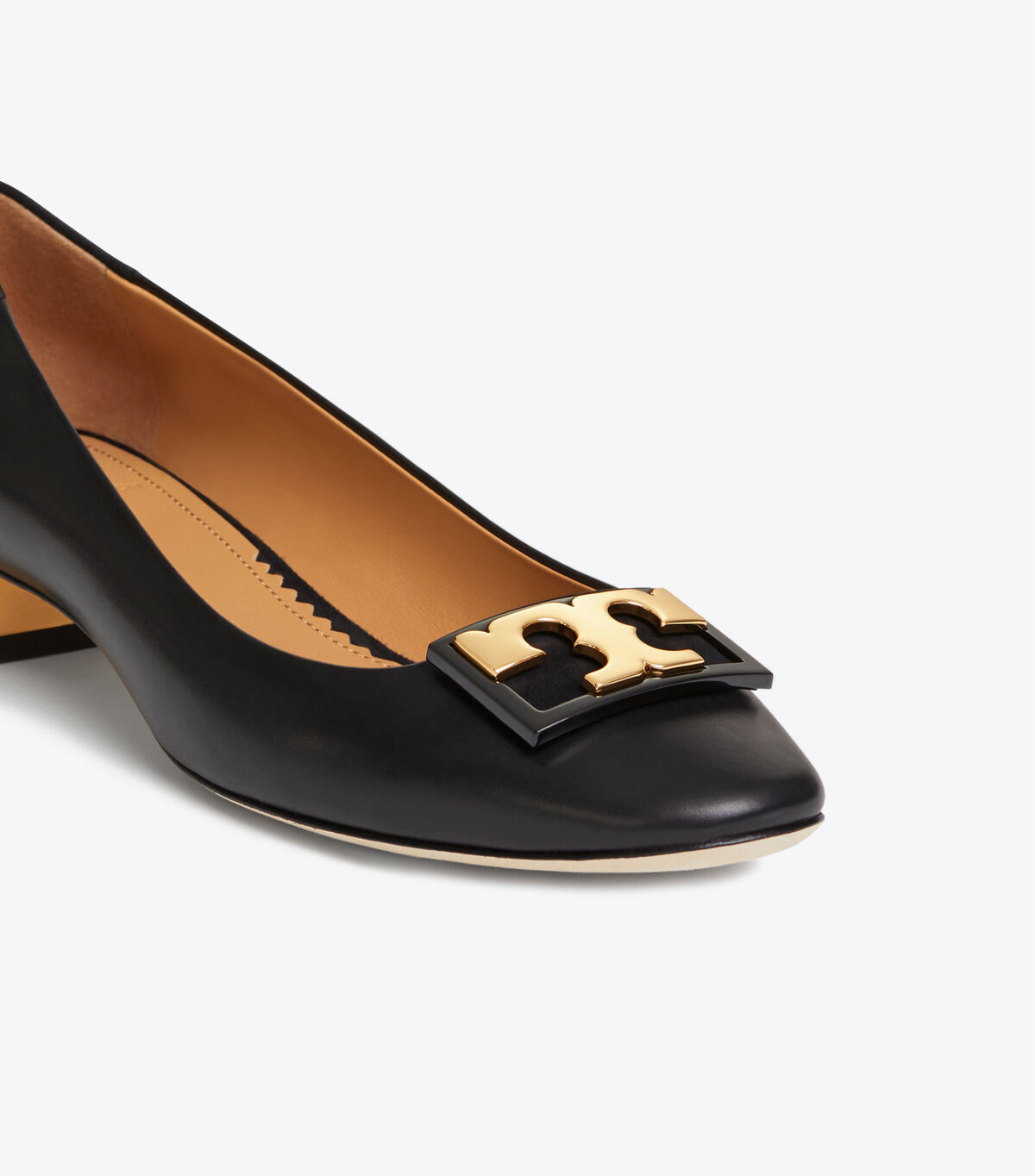 حذاء جيجي بكعب عريض 20 مم / 004/ أحذية باليرينا