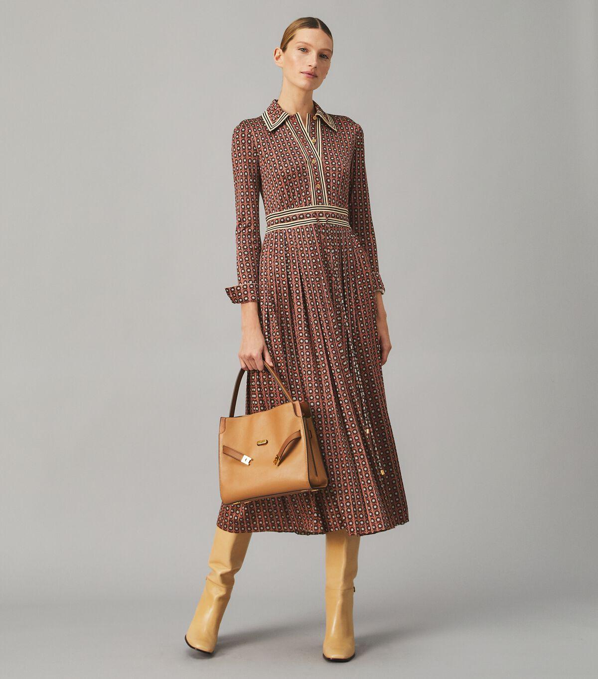 Knit Shirtdress