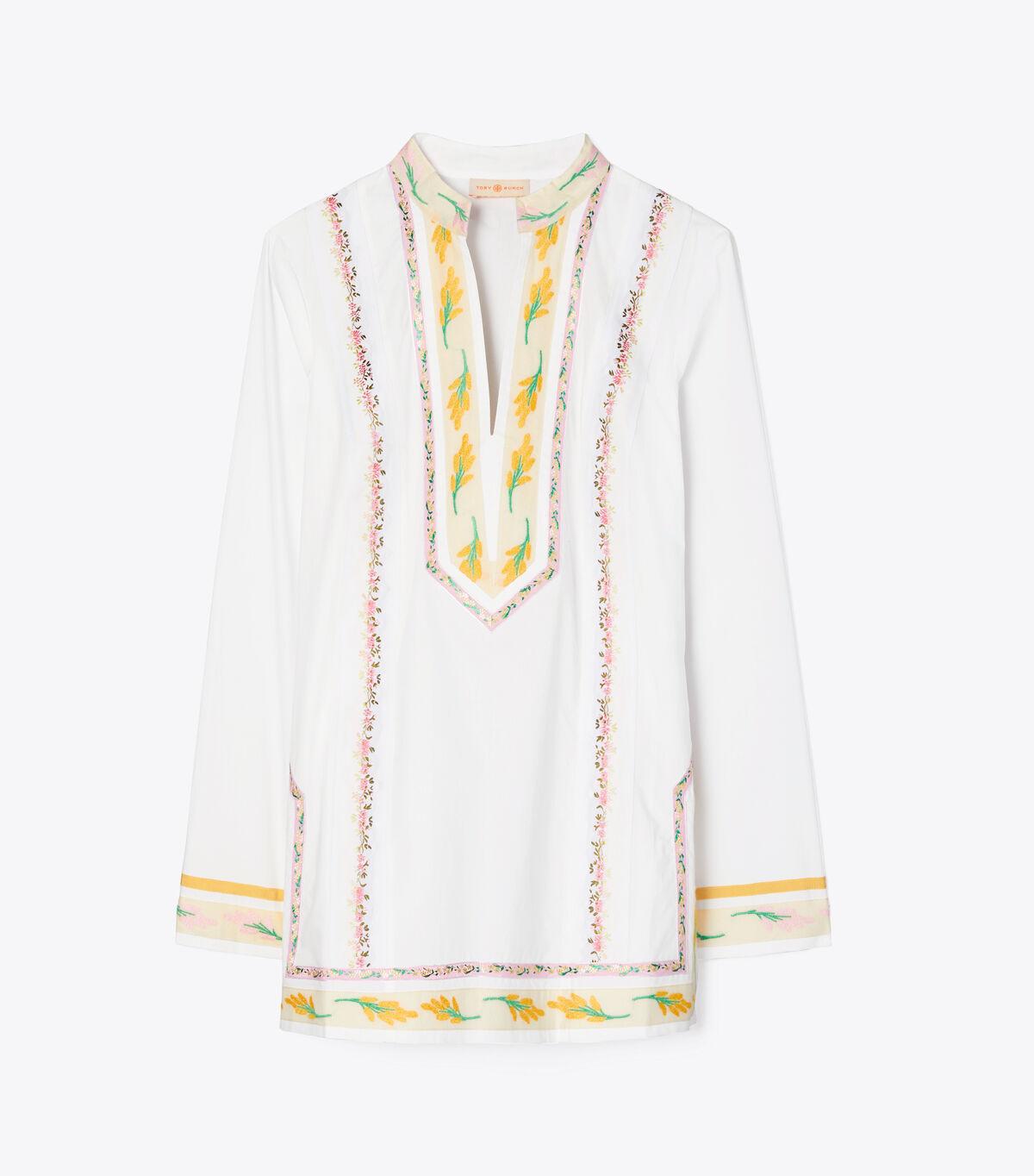 Ribbon Embellished Tunic