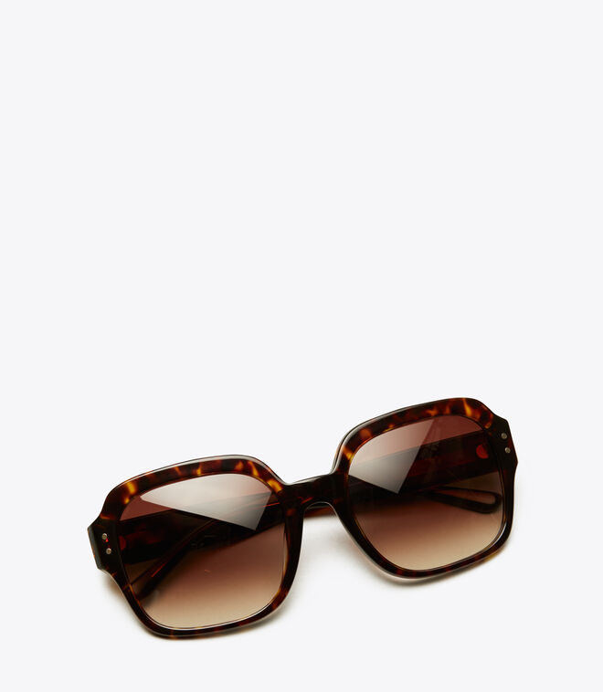 VINTAGE EXPLODED STACKED SQUARE   212   Sunglasses