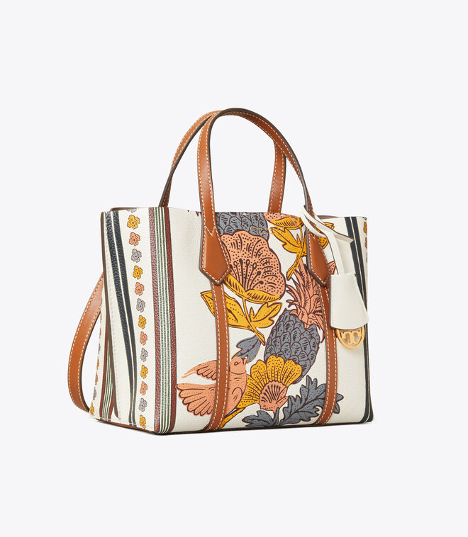 Perry Printed Small Triple-Compartment Tote