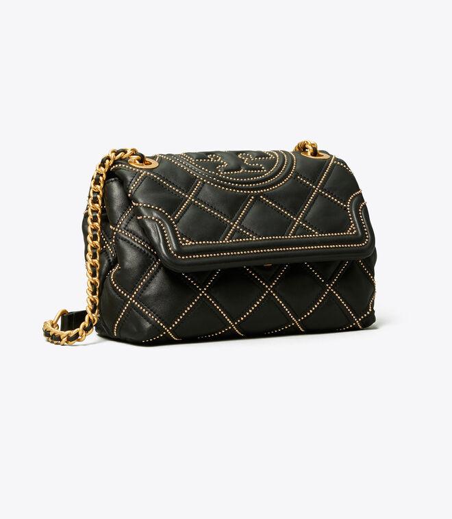 FLEMING SOFT STUD SMALL CONVERTIBLE SHOULDER BAG | 001 | Shoulder Bags