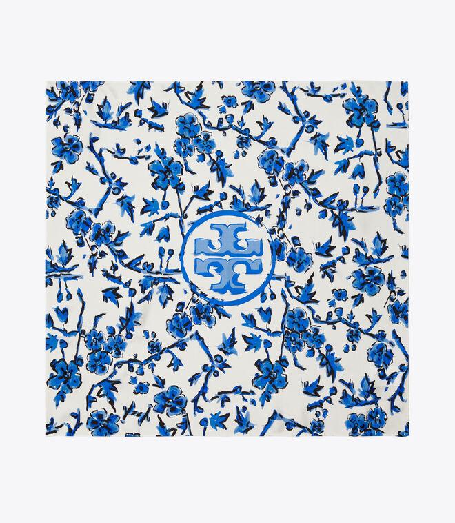 BLUE BRANCHES NECKERCHIEF