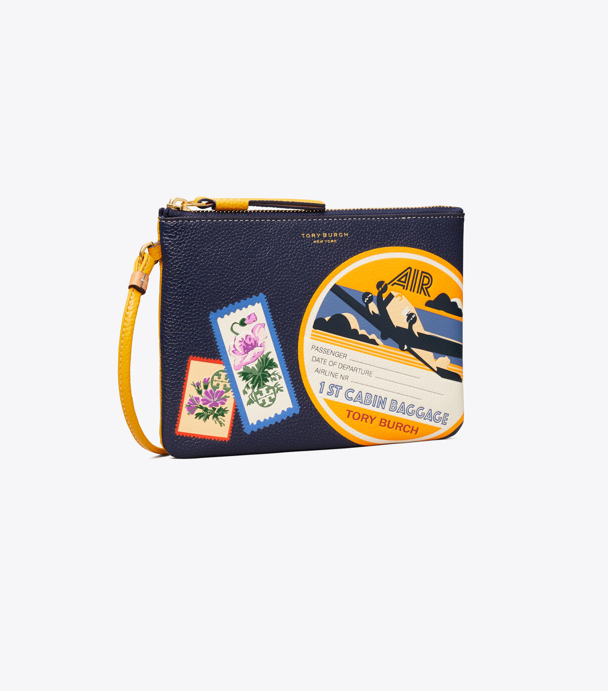 Perry Travel Patches Wristlet