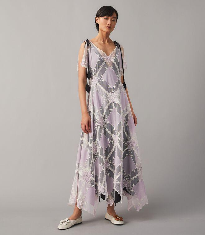 Handkerchief Patchwork Dress