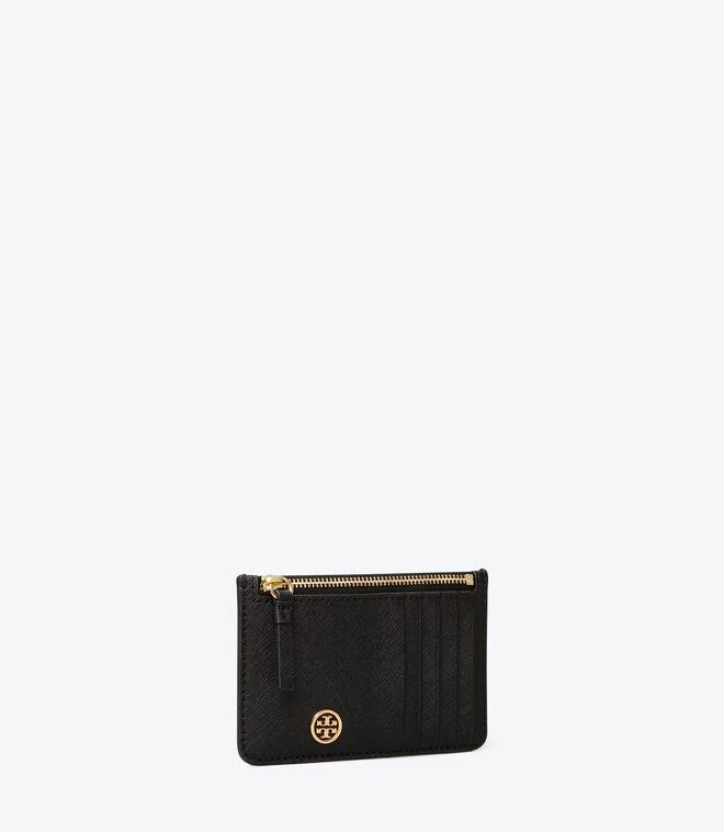 ROBINSON TOP-ZIP CARD CASE | 001 | Card/Coin Cases