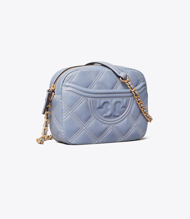Fleming Soft Contrast-Stitch Camera Bag