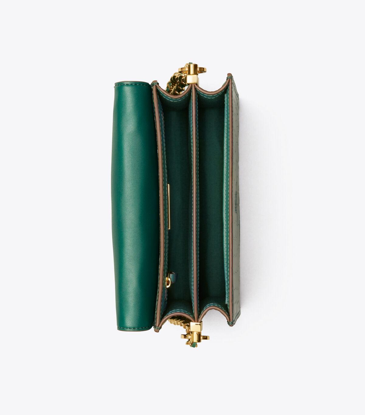 حقيبة كتف روبنسون بطبعة جلد التمساح