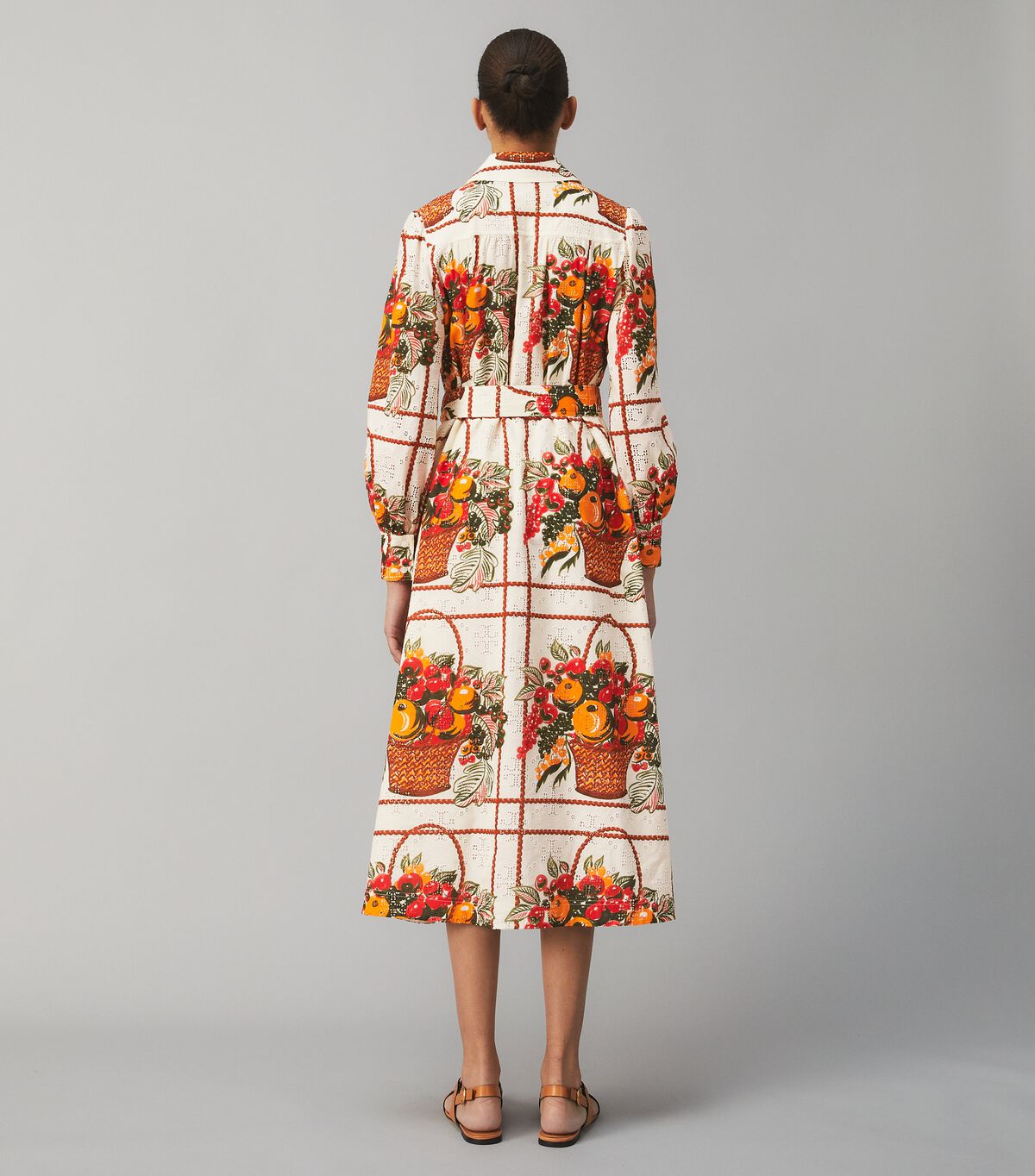 Printed Broderie Anglaise Painter's Dress