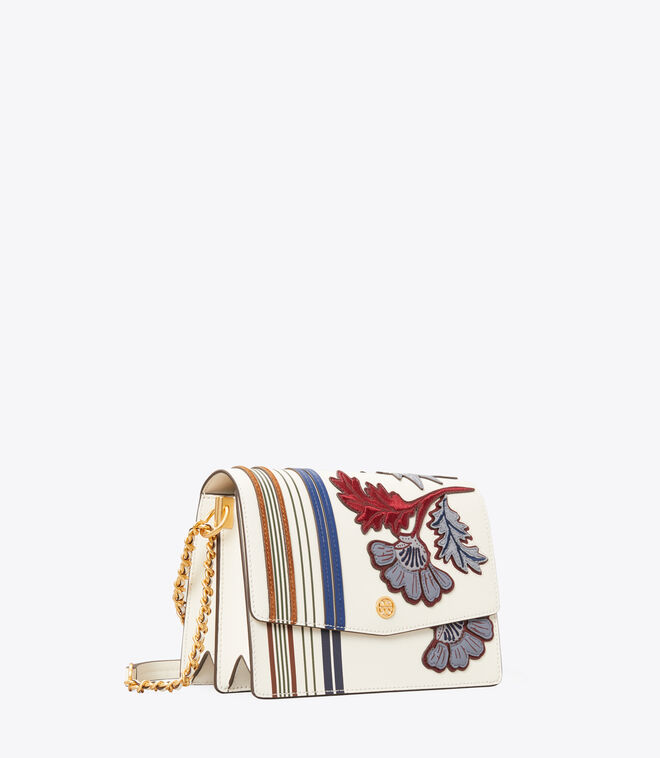 Robinson Appliqué Convertible Shoulder Bag