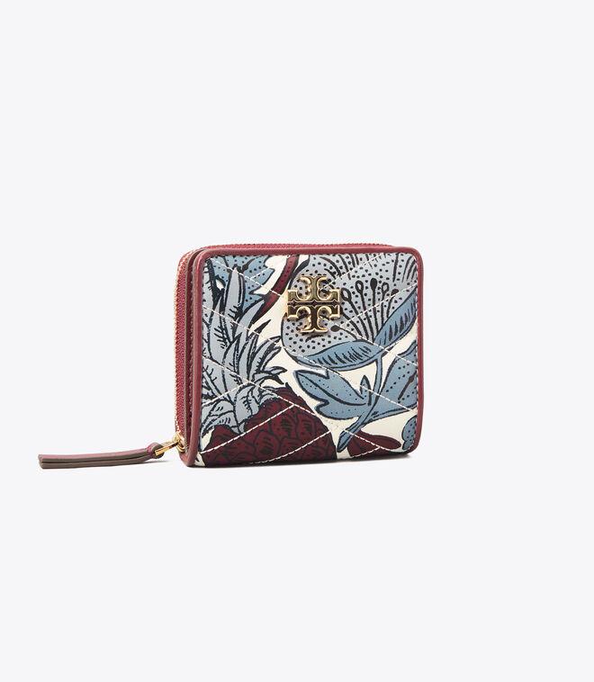 Kira Chevron Printed Bi-Fold Wallet
