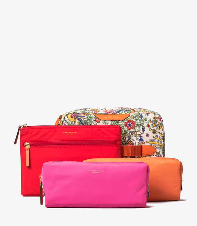 حقيبة مستحضرات تجميلية بيري نايلون مطبوعة/962/ حقائب مستحضرات تجميلية