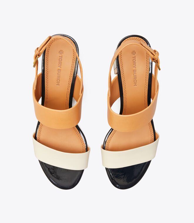 Gigi Two-Tone Sandal