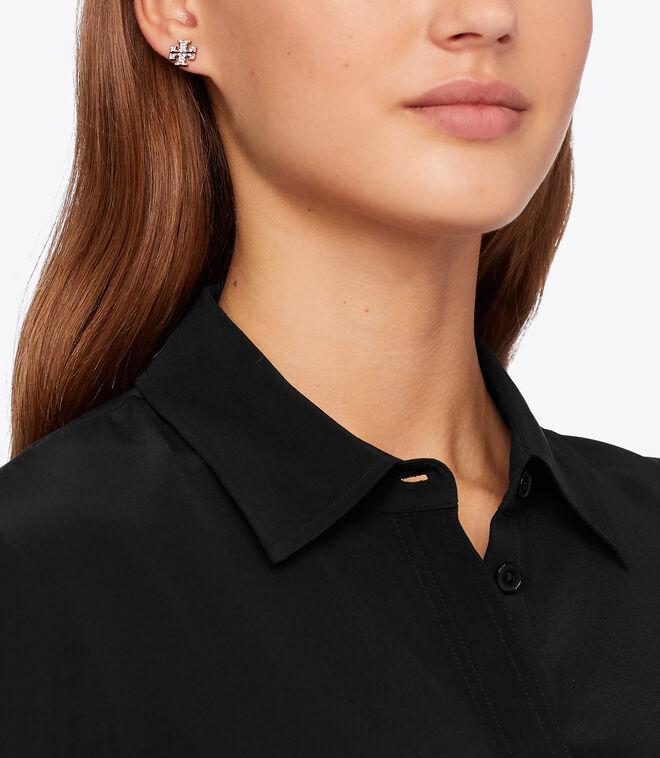 Kira Pavé Stud Earring