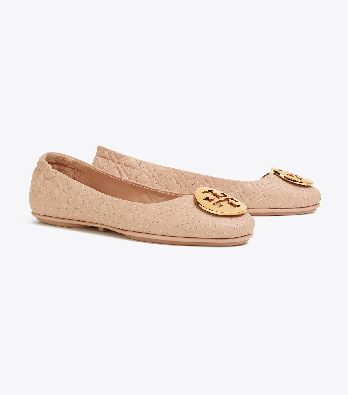 باليرينا ميني ترافيل مبطنة مع شعار ميتال/250/ أحذية باليرينا