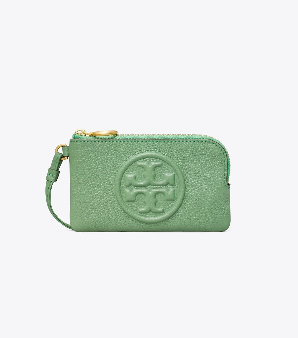 Perry Bombe Top-Zip Card Case
