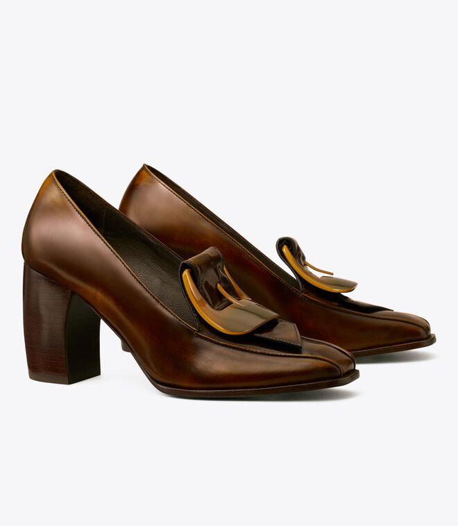 Buckle Heel Loafer