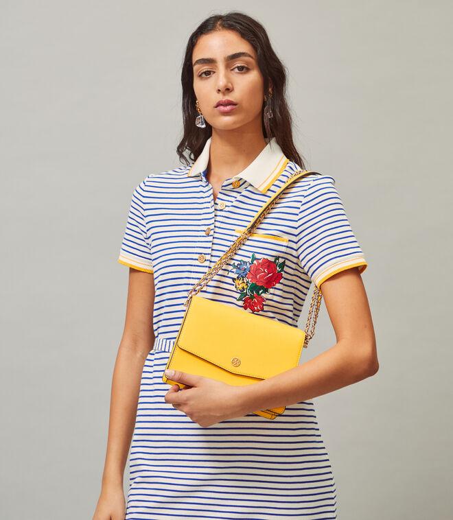 Robinson Floral Interior Convertible Shoulder Bag