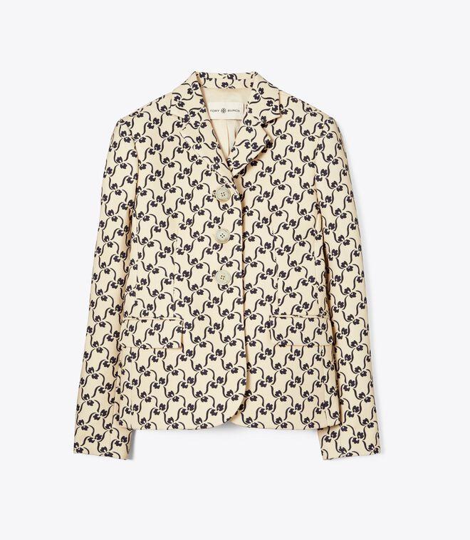 Twill Crepe Jacket