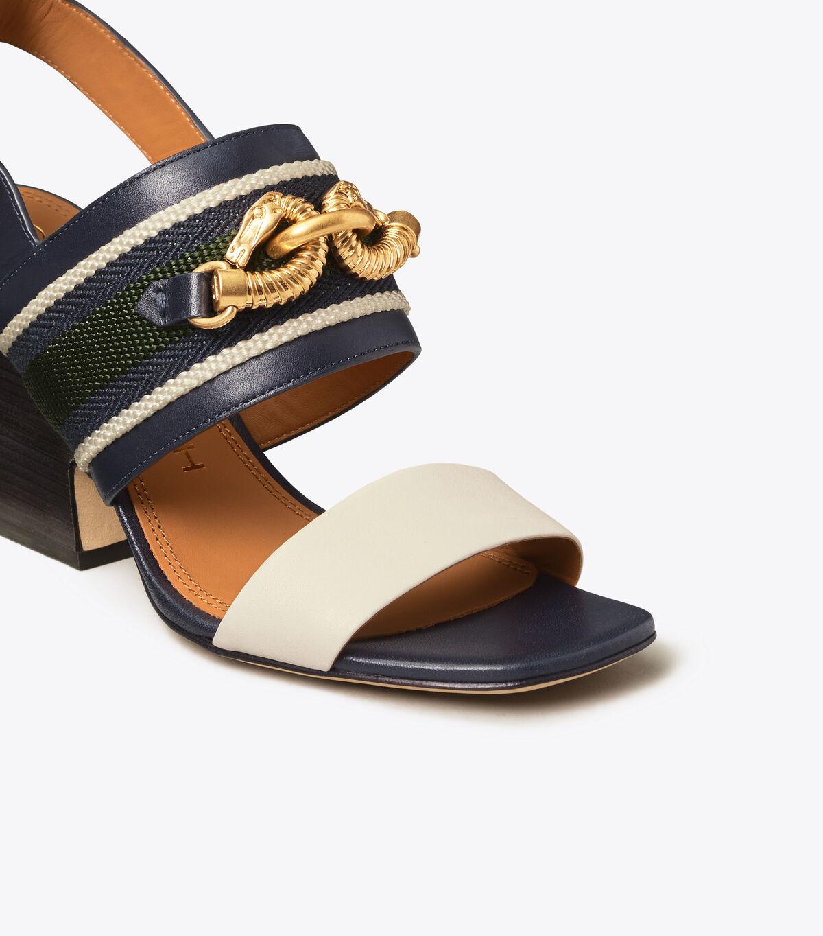 JESSA 75MM BLOCK HEEL SANDAL   400   Heeled Sandals