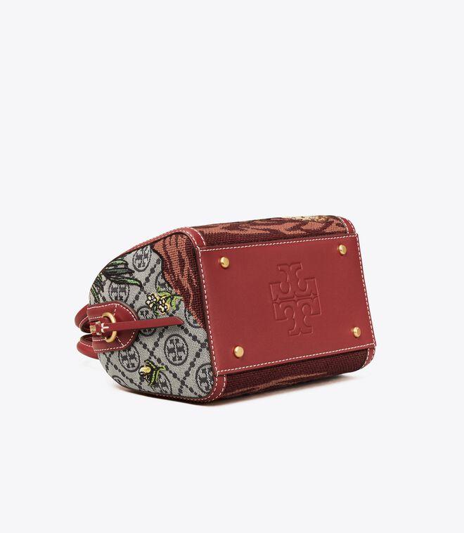 حقيبة صغيرة ثلاثية الجيوب من بيري تي مونوغرام