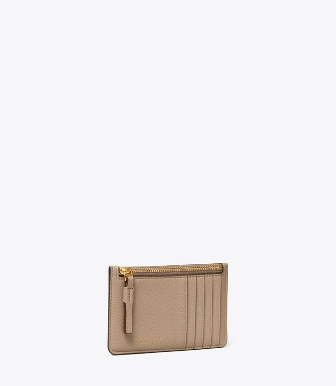 PERRY TOP-ZIP CARD CASE | 082 | Card/Coin Cases