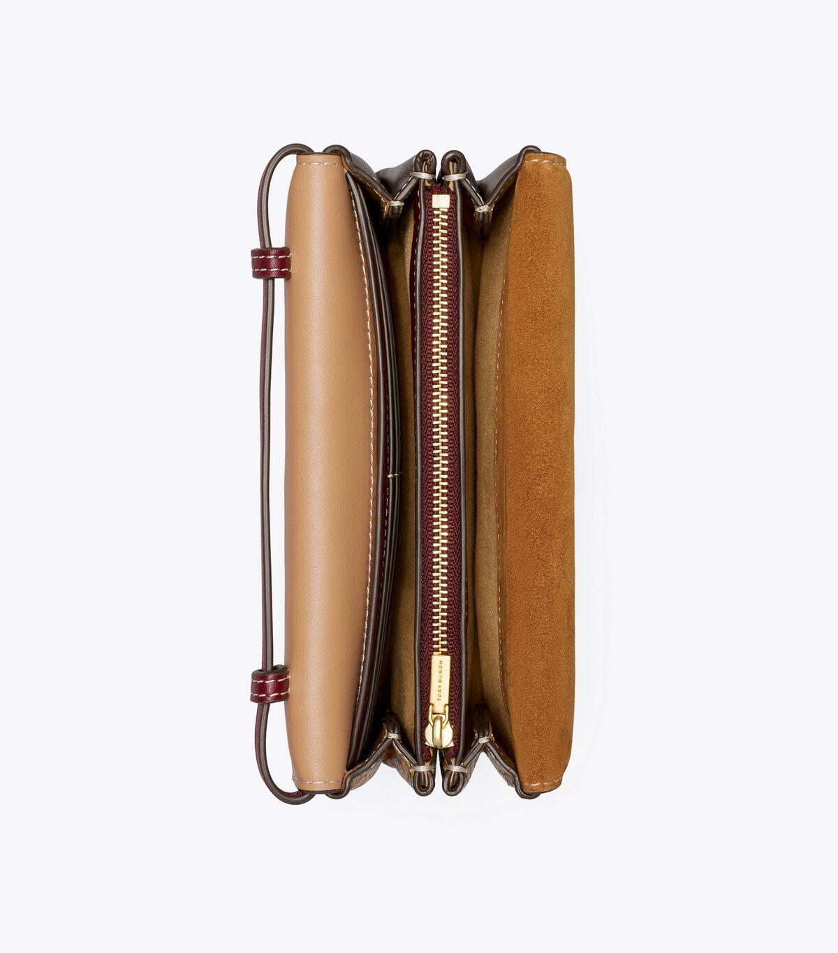 Miller Mixed-Materials Wallet Crossbody